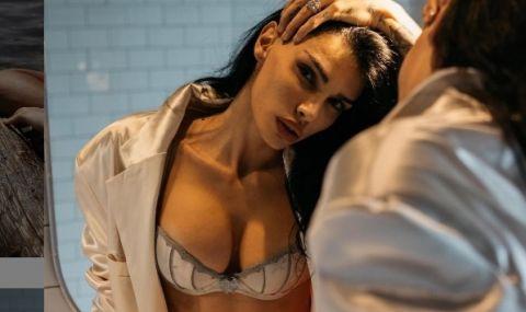 Футболна съпруга пусна адски секси СНИМКИ - 1