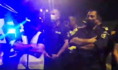 Няма арестувани при блокадата на АМ