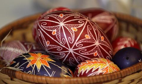 Не сте боядисали яйцата за Великден?