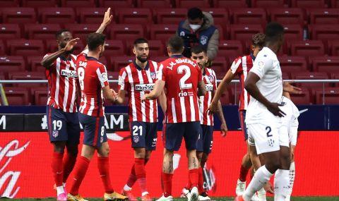 Атлетико Мадрид продължава да е на върха в Ла Лига