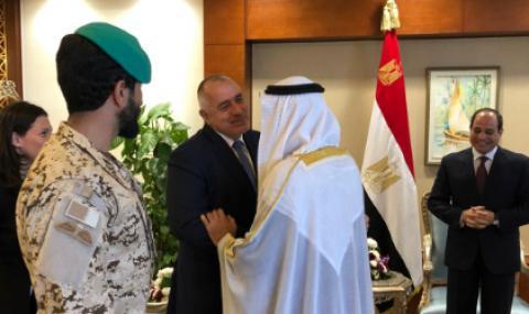Борисов разговаря с престолонаследника на Абу Даби