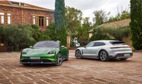 Ето го: Porsche представи електрическото комби със 761 конски сили - 1