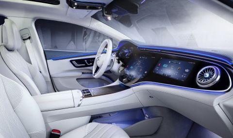 Mercedes представи електрическата S-Klasse - 16
