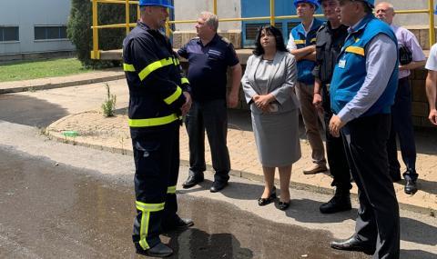 """Петкова: Пожарът в ТЕЦ """"Марица-изток 2"""" няма да се отрази на сигурността - 1"""