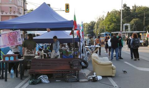 Протестиращите ще затварят още кръстовища в София