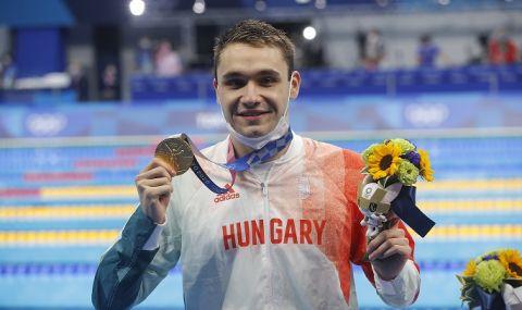 Унгарски вундеркинд спечели олимпийската титла на 200 метра бътерфлай - 1