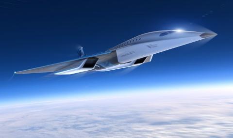 За новия пътнически свръхзвуков самолет  на Virgin Galactic (спойлер - много е бърз)