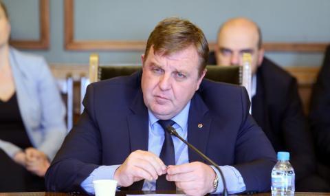 Каракачанов: Има два варианта за политическата ситуация у нас