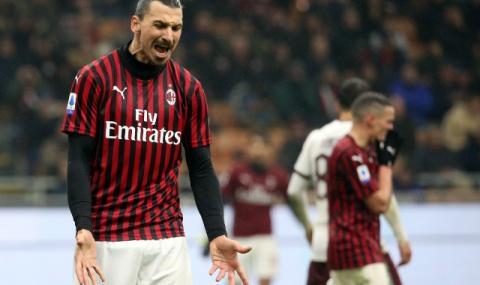 Ибрахимович вдигна скандал в съблекалнята на Милан