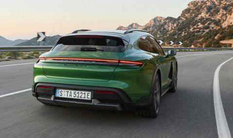 Ето го: Porsche представи електрическото комби със 761 конски сили - 5