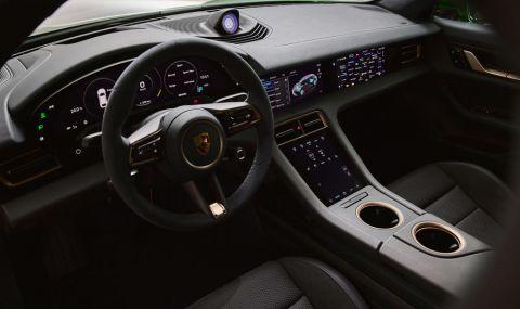 Ето го: Porsche представи електрическото комби със 761 конски сили - 6