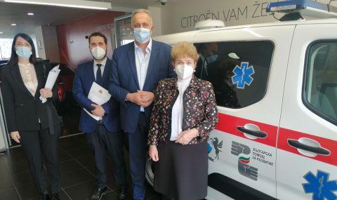 България подари на Черна гора линейка за €29 000