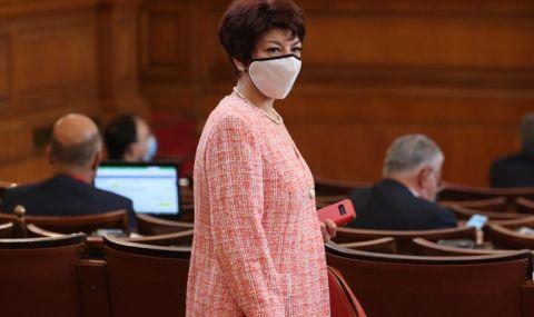 Десислава Атанасова: Без ГЕРБ не може да се състави правителство