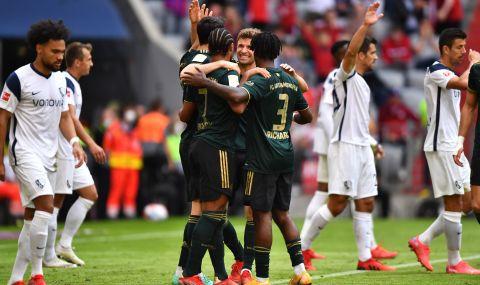 Байерн Мюнхен разпиля Бохум със 7:0 - 1