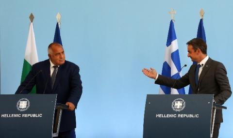 Отзвук в Гърция след посещението на Борисов