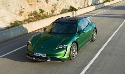 Ето го: Porsche представи електрическото комби със 761 конски сили - 10