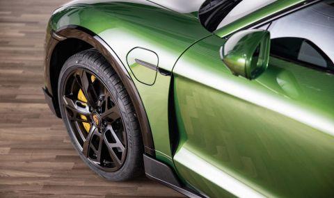 Ето го: Porsche представи електрическото комби със 761 конски сили - 13