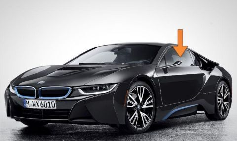 Без странични огледала за новите BMW-та