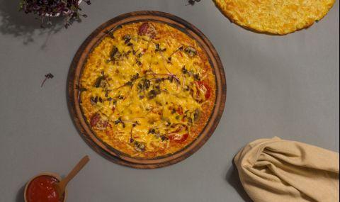 Рецепта за вечеря: Кето пица с кайма (ВИДЕО)