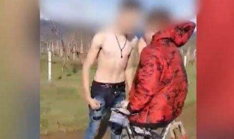 ВИДЕО от бруталния побой над момче край Поморие