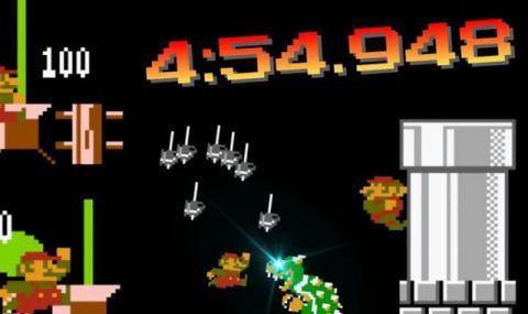 Още един непостижим рекорд на играта Super Mario Bros (ВИДЕО)