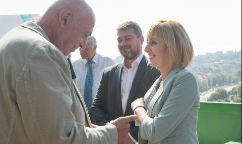 Максим Генчев: Мая Манолова има политически опит и морал