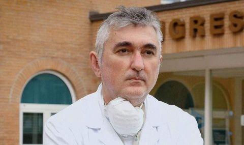 Италия e в шок! Самоуби се лекарят, въвел използването на кръвна плазма в борбата с COVID-19 - 1