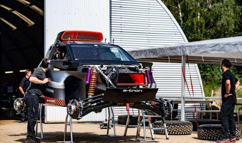 """Ето с какъв автомобил Audi ще участва в рали """"Дакар"""" през 2022 година - 2"""
