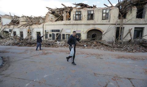 Ужас след труса в Хърватия
