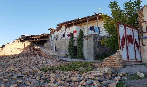 Силно земетресение в Иран, има пострадали