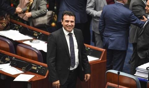 Зоран Заев внася в парламента предложение за състава на новото правителство