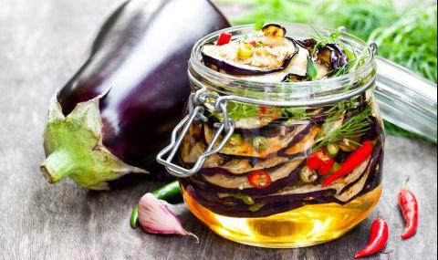 Рецепта на деня: Маринован патладжан - 1