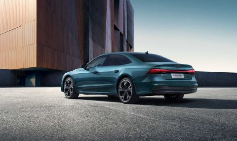 Audi A7 вече е седан - 1