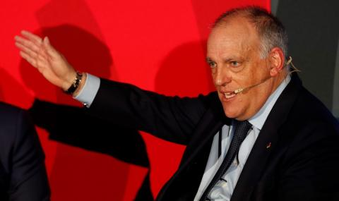 Президентът на Ла Лига скочи на