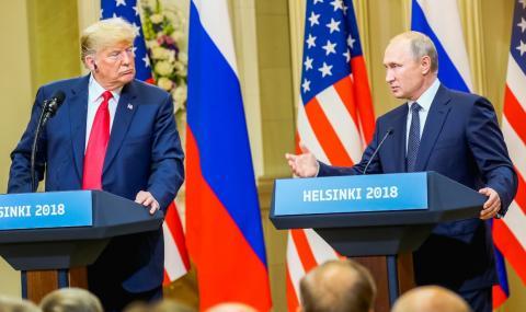 Путин и Тръмп разговаряха по телефона
