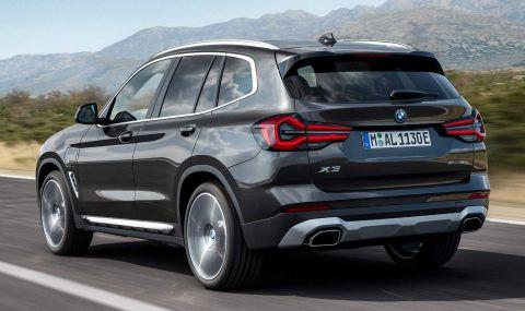BMW X3 и X4 също получиха фейслифт - 12
