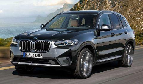 BMW X3 и X4 също получиха фейслифт - 10