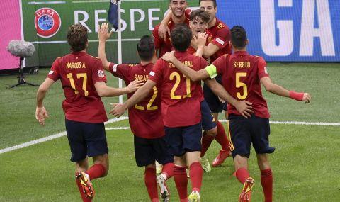 Испания победи 10 от Италия и е на финал в Лигата на нациите - 1