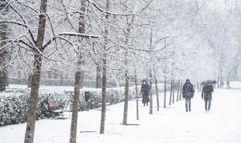 Студ и сняг в Испания