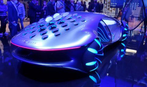 Mercedes AVTR пристига от друга планета и се управлява с мисли - 1