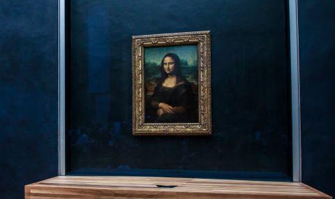 Откриха човешка ДНК в картини на Леонардо да Винчи
