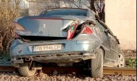 Жената, шофирала блъснатата от влак кола в Скутаре, не реагирала на изсвирването на локомотива