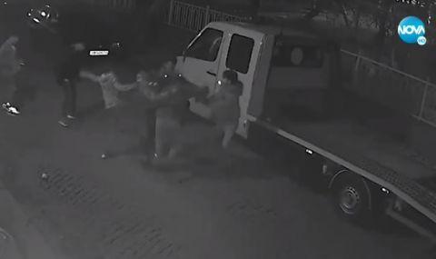 Група цигани пребиха мъж в Пловдив (ВИДЕО)