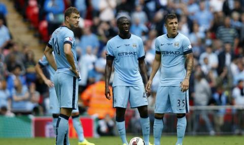 Манчестър Сити се издъни срещу Бърнли - 1