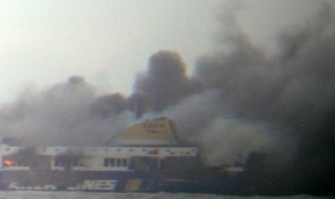 МВнР: Има 9 българи в списъка с пътници на горящия ферибот - 1
