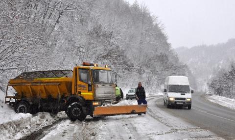 Над 600 снегорина са по пътищата - 1