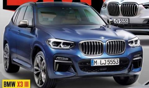Изтекоха снимки на новата X3-ка на BMW - 2