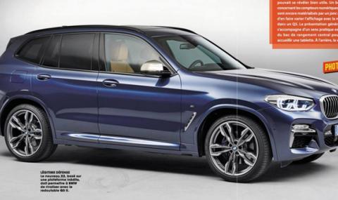Изтекоха снимки на новата X3-ка на BMW - 3