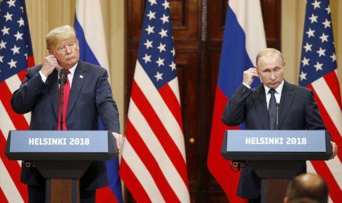 Тайните разговори на Тръмп и Путин