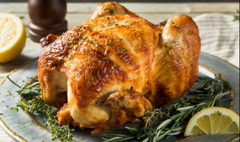 Рецепта за вечеря: Печено пиле с лимон